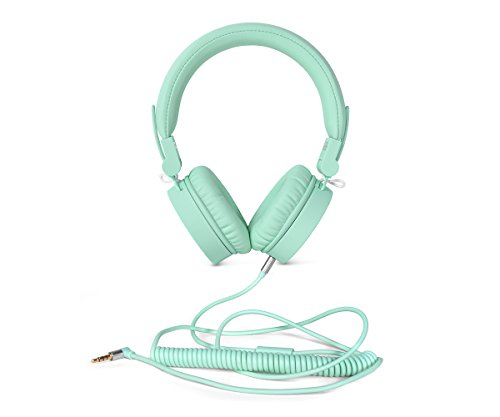 Fresh'n Rebel - Auriculares clásicos, color menta