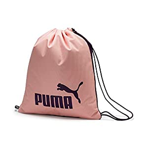 41hiPF1VYKL. SS300  - PUMA Phase Gym Sack Bolsa De Cuerdas, Unisex Adulto, Black/Sweet Lavender, OSFA