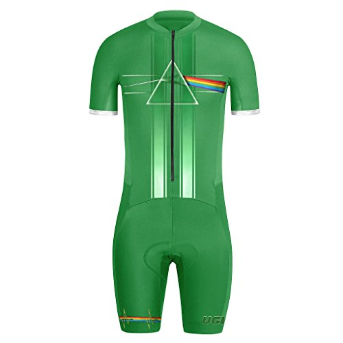 Uglyfrog Bike Wear Radsport Bekleidung Herren Summer Style Skinsuit with Gel Pad #02