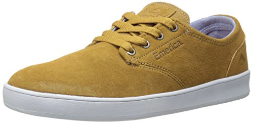Emerica Laced By Leo Romero-M, Baskets mode homme brown/white/brown/marron