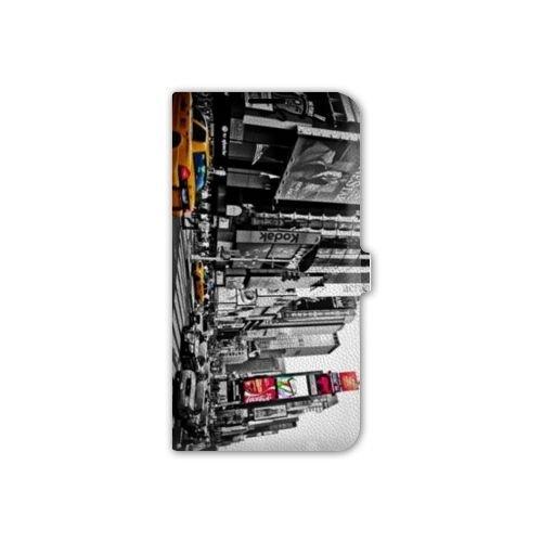 Cokitec Leather flip Case Schale Wiko Sunny usa America - New York Taxi B