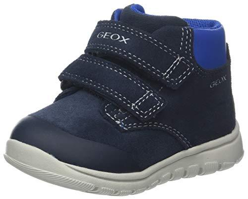Geox b xunday boy a, scarpe da ginnastica basse bambino, blu (navy c4002), 25 eu