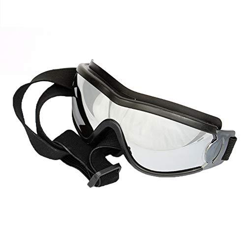 Shanyaid Formidables Pet Sonnenbrillen Dog Puppy UV Goggles wasserdichte Winddichte Sonnenbrille mit verstellbarem Riemenschutz Sonnenbrille für große/mittlere Hunde