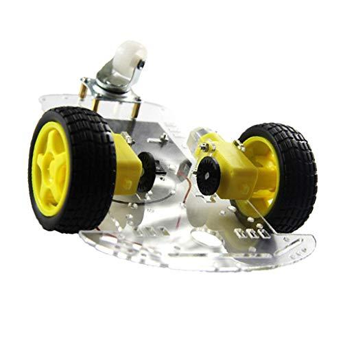 F Fityle 2WD Smart Roboter Auto DIY Kit Für Arduino R3 Raspberry Pi