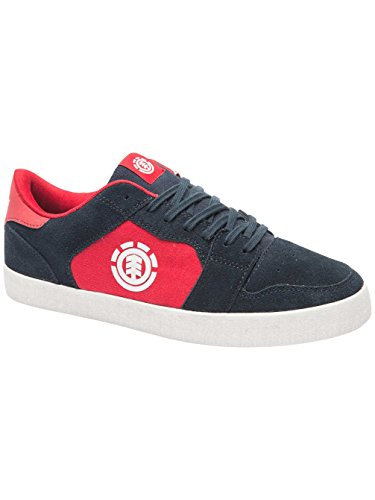 Element Heatley Herren Skateboardschuhe Rot & Blau