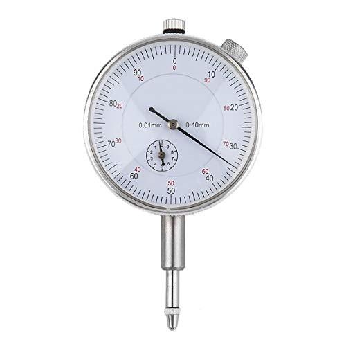 Heaviesk Professionelles Präzisionswerkzeug 0,01 mm Genauigkeit Messinstrument Messuhr Messgerät Stabile Leistung