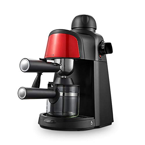 Douerge Pumpe Espressomaschine, italienische Kaffeemaschine mit Dampfstab, Messlöffel für heiße Getränke, Cappuccino & Home - Kaffeemaschine 850W