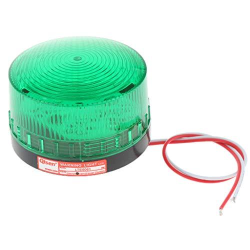 FLAMEER Avertissement Lumière de Balisage à LED Signal - Vert 24 V