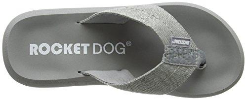 Rocket Dog Sabra, Sandales Plateforme femme Grey (Canvas Grey)