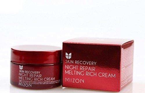 Mizon - Night Repair Melting Creme - Anti Falten Nachtcreme - Gesichtspflege und intensive Anti Aging Nachtpflege (Night Creme Repair Intensive)