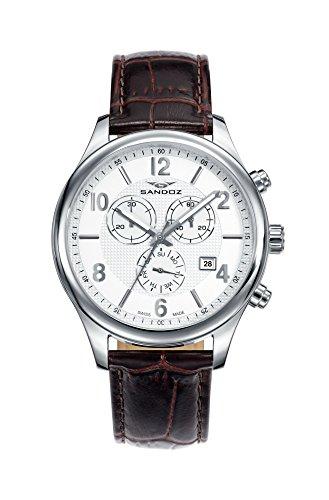 Reloj Suizo Sandoz Hombre 81369-83 Elegant