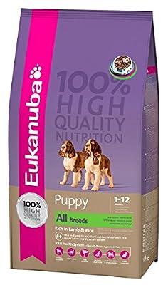 Eukanuba Puppy Lamb/Rice Chunk, 1Kg