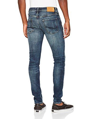 JACK & JONES Herren Skinny Jeans Blau (Blue Denim)
