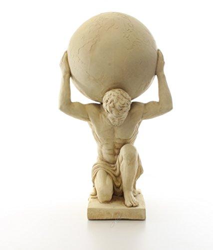Dekofigur Statue Skulptur Atlas griechische Mythologie 68,6 cm