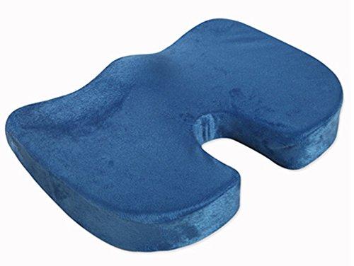 Confort Blue Memory Foam Seat président Coussin