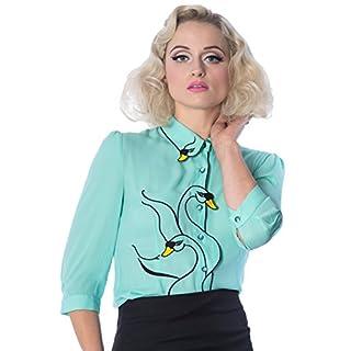 Banned Swan Lake Alternative Shirt - erhältlich in 4 Farben - Ambrosia/UK-14