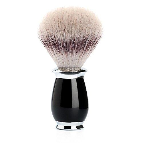 MÜHLE - Rasierpinsel - PURIST Serie - Silvertip Fibre - Edelharz schwarz -