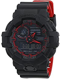 Casio G-Shock Herren-Armbanduhr GA-700SE-1A4ER, Rot
