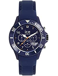 Ice-Watch - ICE Chrono matte Blue - Blaue Herrenuhr mit Silikonarmband - 013714 (Large)