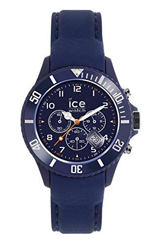 Ice-Watch - ICE Chrono matte Blue - Reloj blu para Hombre con Correa de silicona - 013714 (Large)