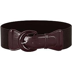 Cinturones para Mujer Dama Elástico Barato Resistente Lazo Floral CL469-6 M
