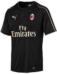 Puma AC Milan Training SS with Sponsor, Maglia Calcio Uomo