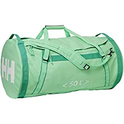 Helly Hansen HH Duffel Bag 2 Bolsa de Viaje, Unisex Adulto, Green (Spring Bud), S (50 litros)