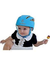 ELENKER Casque de sécurité ajustable pour bébé Casque de protection pour marche