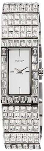 DKNY Glitz Silver-Tone Dial Women's Watch #NY8299