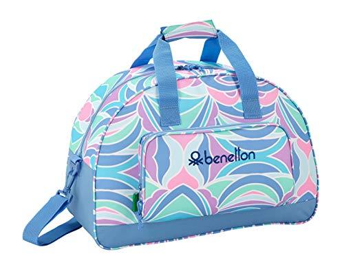 Benetton 'Arcobaleno' Oficial Bolsa de Deporte Oficial 480x210x330mm