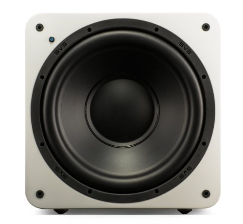 SVS SB-1000 Subwoofer, Farbe: piano gloss weiß