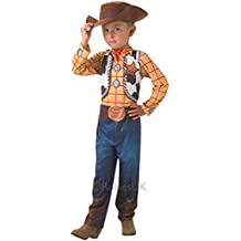 Woody Classic - Toy Story - Childrens Disfraz - Medium - 116cm