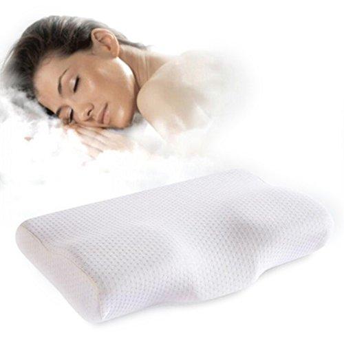 Curva de contorno de espuma de memoria almohada para el cuello almohada terapéutica y diseño ergonómico para un sonido sueño