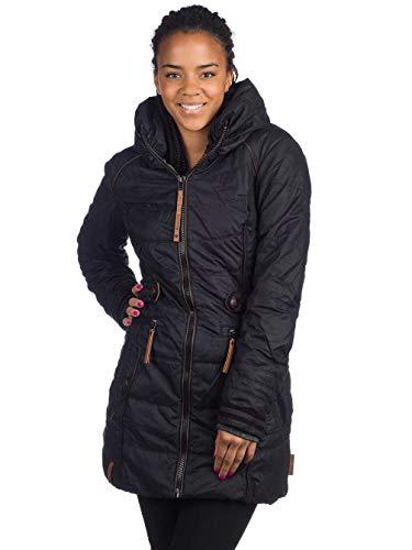 Naketano Damen Mantel schwarz (15) S