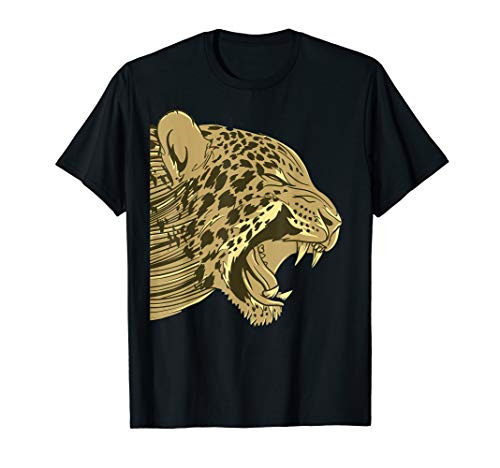 Lion Kostüm Herren - Roaring Lion Face Kostüm Lustiges Tier Halloween Gift T-Shirt
