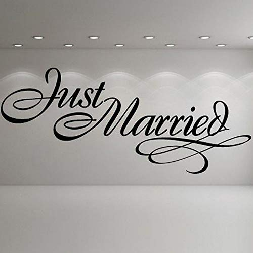legant Sign Wedding Wall Stickers Occasion Decor Art Decals Quotes Wedding Party Decoration Vinyl Art Mural ()