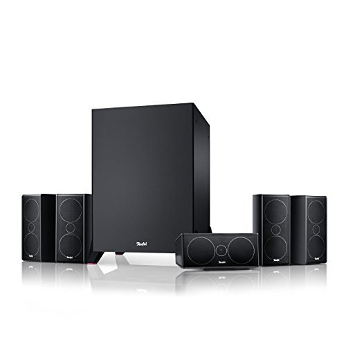 "Teufel Consono 35 Mk3 Power Edition ""5.1-Set"" Schwarz Film Subwoofer Lautsprecher Movie Musik Raumklang Sound Heimkino DTS HD Komplettanlagen 5.1 3d"