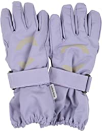 Mikk-Line Baby Girls' Nylon-Fingerhandschuh Gloves