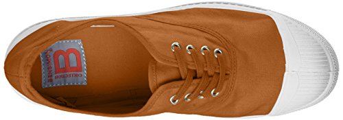 Bensimon Damen Tennis Lacets Sneaker Gelb (Miel)