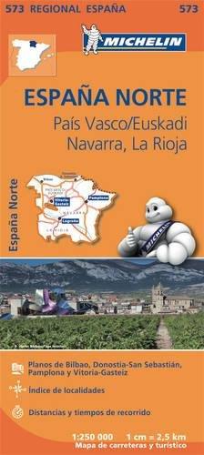 Mapa Regional País Vasco/Euskadi, Navarra, La Rioja (Carte regionali) por Vv.Aa