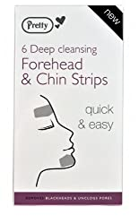 Pretty Forehead & Chin Deep Cleansing Strip 1 X 6