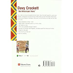 Davy Crockett. An American Hero. Book (+CD) (Black Cat. Green Apple)