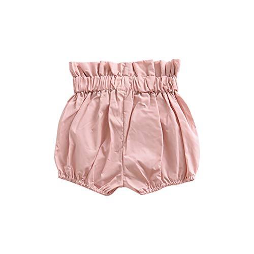 Hongyuangl Baby Mädchen Bloomers Trainingshose Rüschen Höschen Windel bedeckt Unterwäsche Shorts Kleinkind Kinder
