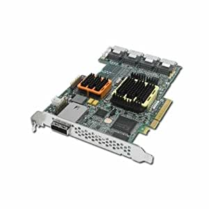 Adaptec RAID 51645 Contrôleur de stockage (RAID) 20 Canal SATA-300 / SAS 300 Mo/s RAID 0, 1, 5, 6, 10, 50, JBOD, 1E, 5EE, 60 PCI Express x8
