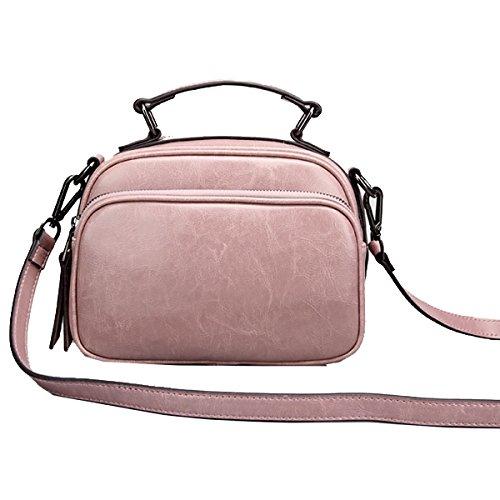 Messenger Bag Yy.f Nuova Piccola Borsa In Pelle Un Piccolo Partito Insacca Borse Borse Vintage Diagonale Pink