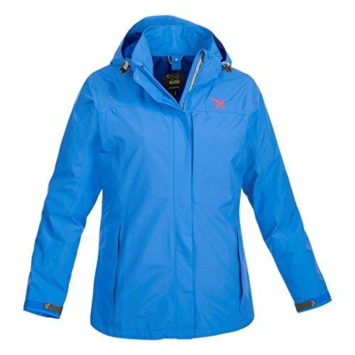 Salewa Zillertal GTX W 1X Veste de pluie pour femme Bleu - Turquoise