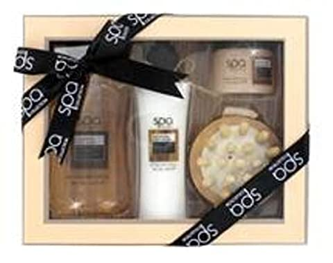 Style & Grace Spa Back To Nature Massage Gift Set 200ml Cleansing Body Wash + 130ml Smoothing Body L