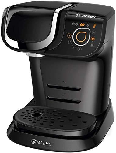 Bosch TAS6002 Tassimo My Way Kapselmaschine (1500 Watt, vollautomatisch, individuelle Getränkeherstellung, Behälter 1,3 L) schwarz