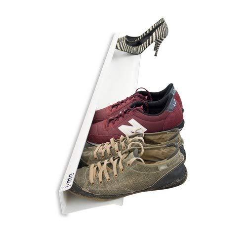 j-me original design Étagère à chaussures Blanc 70 cm