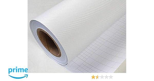 CVANU Self Adhesive 3D Carbon Fiber Vinyl Car Wrap Sheet